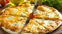 პიცა 4 ყველით (8 ნაჭერი)