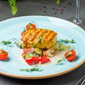 Індичка з соусом Бер Блан і пряними овочами (340г)