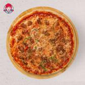 გრილზე შემწვარი ქათმის პიცა/Grilled Chicken Pizza