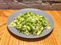 Салат з молодої капусти з кропом  (100г)