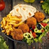 Veggie portion (fasting)