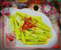 C2 კიტრის სალათი ჩილის საწებელში