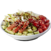 Салат з лососем (205г)