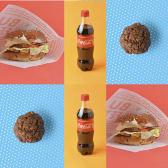 Чізбургер (200г) 2шт+Кекс шоколадний(80г) 2шт+НапійCoca Cola(0.5л) 2шт