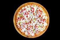 პიცა ქათმის სულგუნით