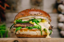 French Burger Double