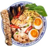 NEW Рамен Шою з морепродуктами (650г)