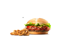 Steakhouse burger + Onion Rings 9 kom