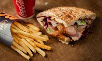 Doner Kebab+ Fries + Drink 400 ml (GE)