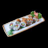 130. Uramaki Special crunchy salmón (8 uds)