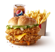 Mighty Zinger Meal