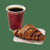 Café Americano  + Croissant de Chocolate