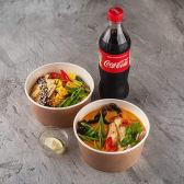 SK Combo 2 (Рис з куркою, суп Том Ям Гай з куркою, Кола)