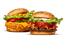 Steakhouse Jr. + Crispy Chicken Cheese X-treme