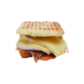 Focaccia Ibèric amb formatge brie