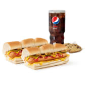 Menú Hot Dog (30cm)