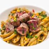 Pljukanci s biftekom i tartufima
