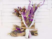 Ramito Seco Con Flor Variada