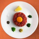 Tatarski biftek za dvije osobe