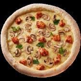 Піца Куряча з грибами (30см)