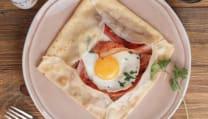ბეკონით, კვერცხით, პარმეზანით/Bacon, egg, Parmesan