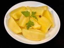 Картопля відварна з маслом та зеленню (150г)