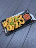 Кальмар в темпурі з соусом на вибір (250г)
