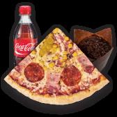 Pizza pikant 220g + muffin s čokoladom 100g + coca cola 0,5l