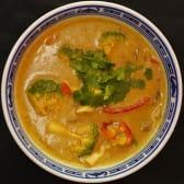 Тайське карі з овочами веганське (300г)