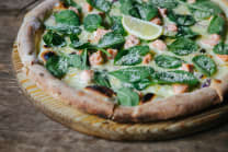 Піца з лососем (530г)