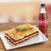 Duo lasagna bolognesa