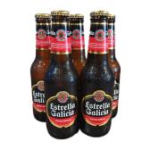 Cerveza Estrella Galicia  (6 uds.) (25 cl.)
