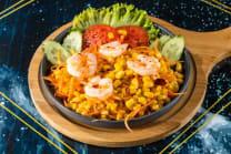 Tum Thai with corn and shrimp
