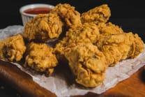 Сrispy wings with sweet-chili sauce