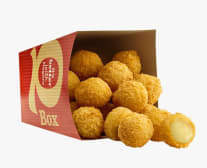 Cheesy Snack Balls x8
