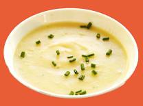 Krem juha od kozica s rikulom
