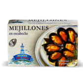 Mejillones escabeche Secretos Del Mar (115 g.)