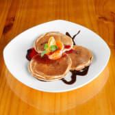 Plato de pancakes