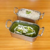 Palak Paneer (Vegetariano)