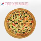 Pizza Tex-Mex Poulet