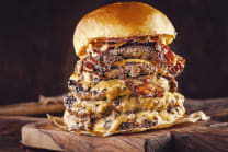 Giant  Burger- მენიუ