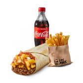 Meniu Cheesy Bacon Fries Burrito