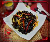 C4 ჩინური შავი სოკოს სალათი მომჟავო საწებელში