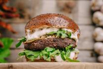 Truffle Vegan Burger Double