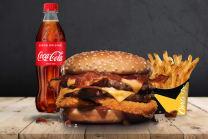 Menú GR Double Western Bacon Cheeseburger