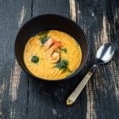 Крем-суп із лосося з креветками (280г)