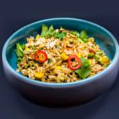 Рис тахіні з горіхами та панданом (215г)