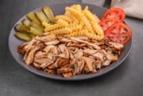 Lebanese Chicken Shwarma Plate for 2 Persons