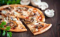 სოკოს პიცა/Mushroom Pizza