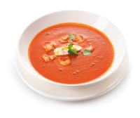 Томатний суп з креветками (350г)